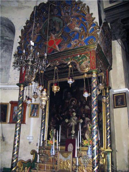 Пятиконечная звезда, Храм Рождества Христова в Вифлееме