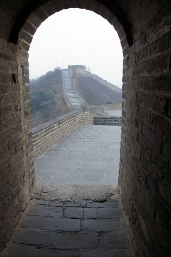 """""""Великая китайская стена"""", выход из башни"""