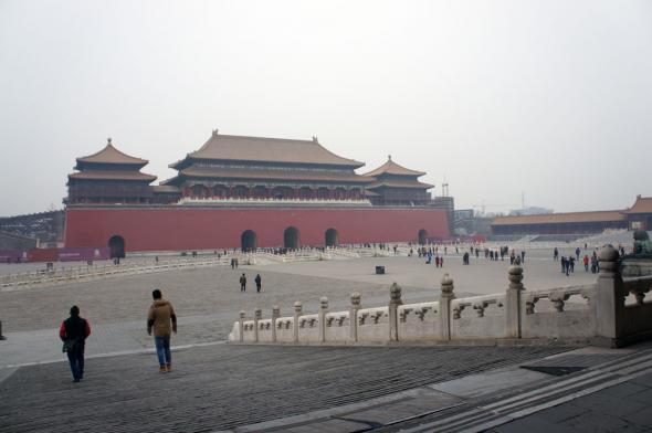 Запретный город - ворота Умэнь