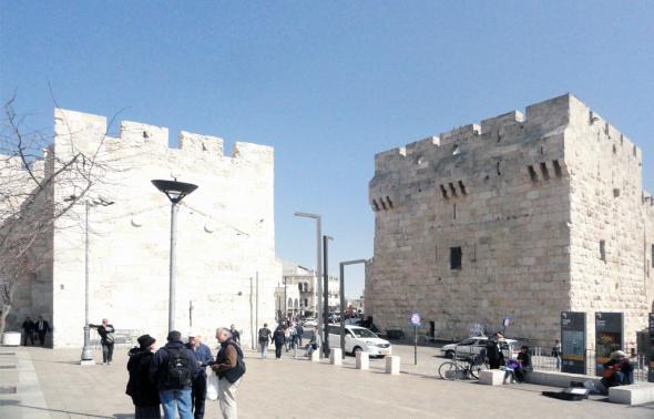 башни Иерусалима
