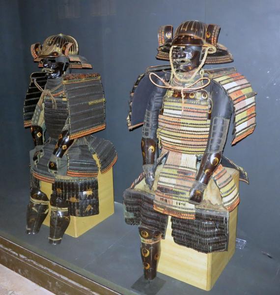Япония - защитное облачение самурая /Музей Армии, г. Париж/