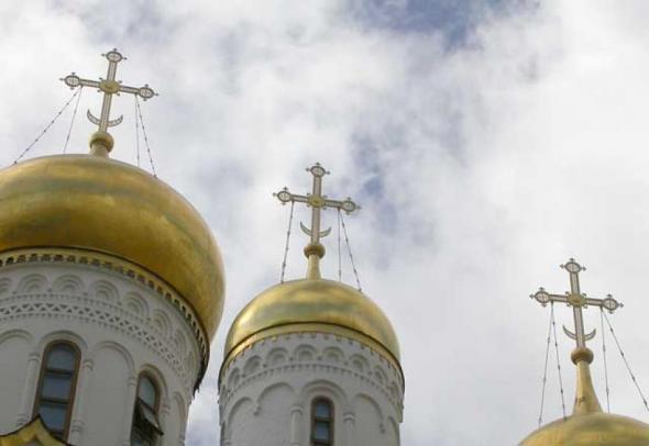 купол, крест
