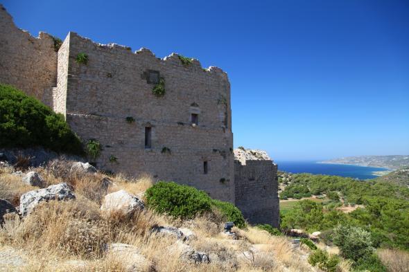 Замок Критиния (о. Родос)
